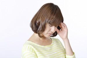 五月病の症状の女性