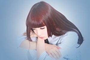 五月病の症状で悩む女性