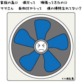 換気扇の汚れの落とし方